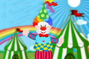 Play Funny Clown Decoration