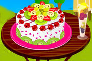 Play Delicious Fruit Cake Decorating