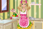 Play Barbie Home Breakfast
