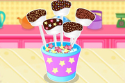 Play Chocolate Dipped Marshmallows