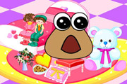 Play Baby Pou Room Decoration