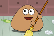 Play Pou Clean Room