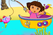 Play Dora Fishing Adventure