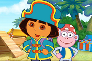 Play Baby Dora Sea Treasure Hunt Adventure