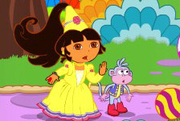 Play Baby Dora Fairy Tale Saving