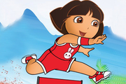Play Baby Dora Running Dress Up