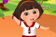 Play Dora New Semester Dress Up