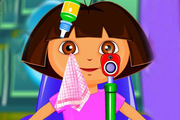 Play Dora At Eye Clinic