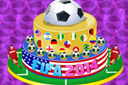 Play 2014 FIFA World Cup Cake