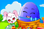 Play Easter Bunny and Colorful Eggs